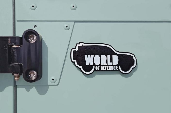 World of Defender Emblem