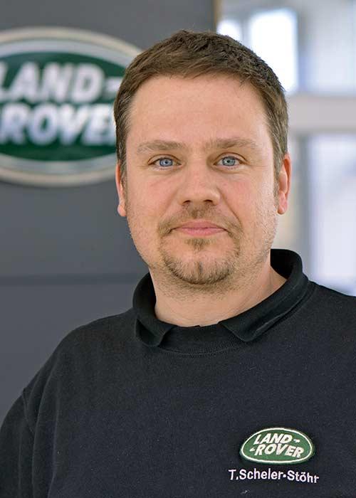 Tommy Scheler-Stöhr, Werkstattmeister, World of Defender