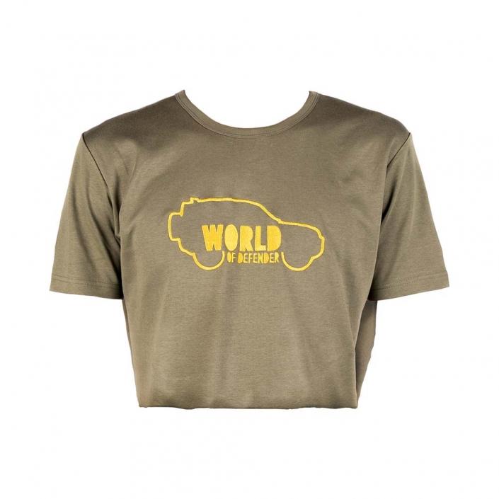 World of Defender-Shirt Titelbild