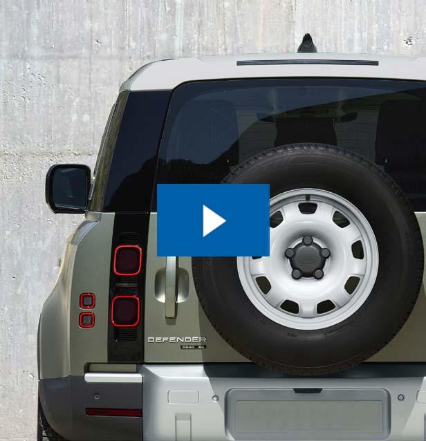 Link zum Video über das Design des neuen Defender V8