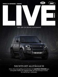 Land Rover Live Cover Ausgabe World of Defender